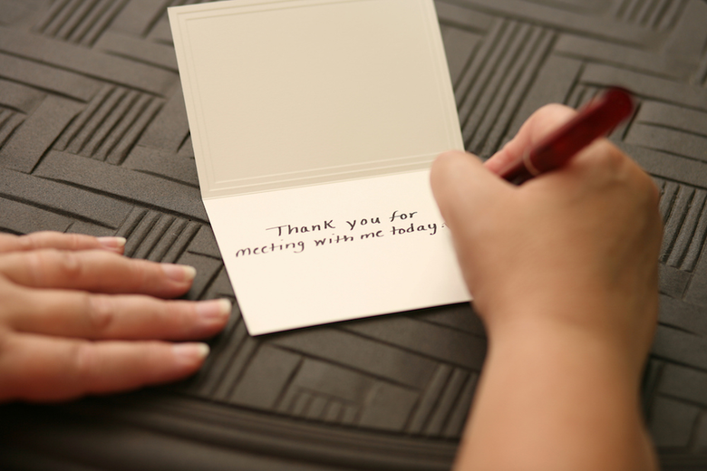 Five Career-Based Reasons to Write Thank-You Notes