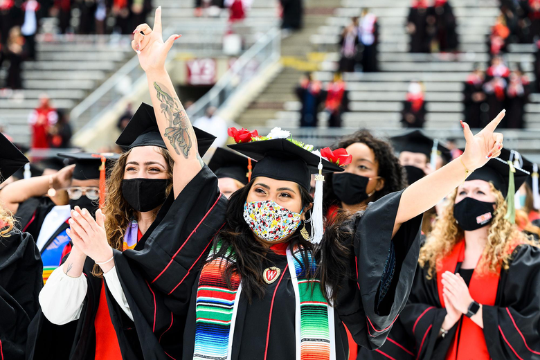 In-Person or Online, Class of 2021 Commencements Are Joyful and Inspiring