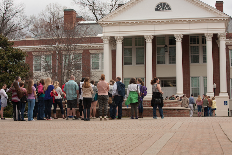 Should Applicant Revisit When College Tour Was Off the Record?
