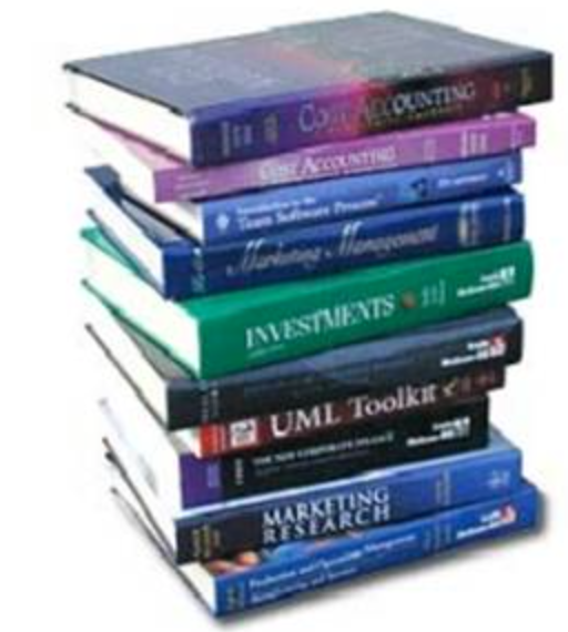 Some College Costs (Mainly Textbooks)