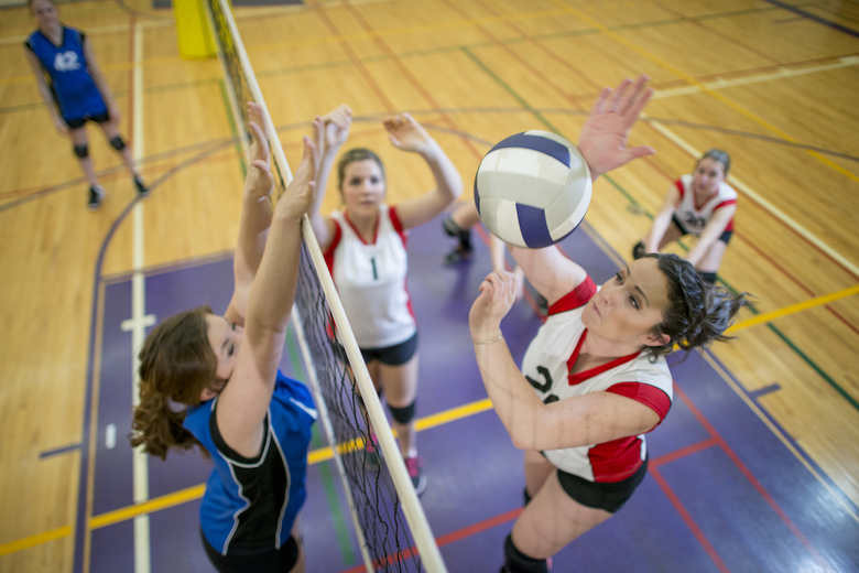 Volleyball Scholarship for High School Star?